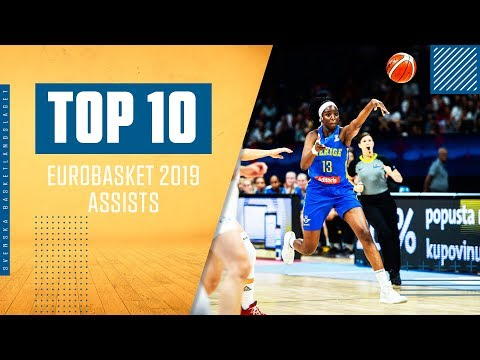 TOP 10: Assists (EuroBasket 2019)