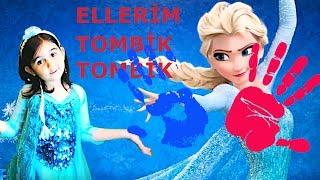 Karlar Kraliçesi Elsa Ellerim Tombik Söylediii...
