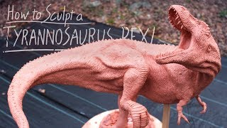 How I sculpt my Dinosaurs!