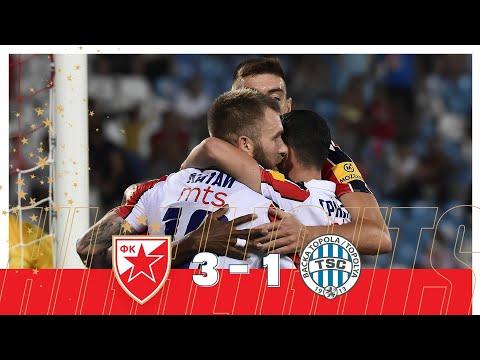 FK Crvena Zvezda Belgrad 3-1 FK AIK Bačka To...