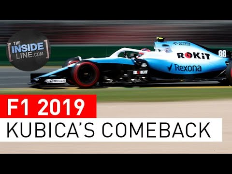 Image: Watch: Kubica on his return to F1 after eight years