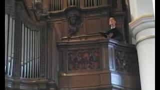 """Christiaan d'Hooghe altus sings """"If music be the food of love.."""""""