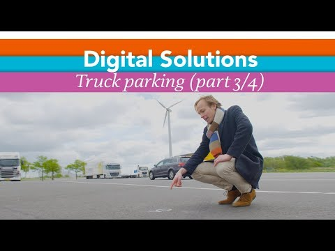 Digital Solutions, the Amsterdam way - Part 3: Truckparking sensoren