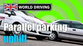 How To Do Reverse Parking  (parallel Parking) Uphill