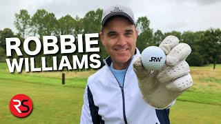 Playing golf with ROBBIE WILLIAMS - MATCHPLAY CHALLENGE