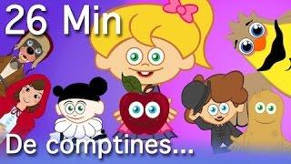 Pomme de Reinette et Pomme d'Api + 13 comptines et chansons - Compilation 26 Min.