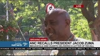 Tshepo Ikaneng reacts to ANC