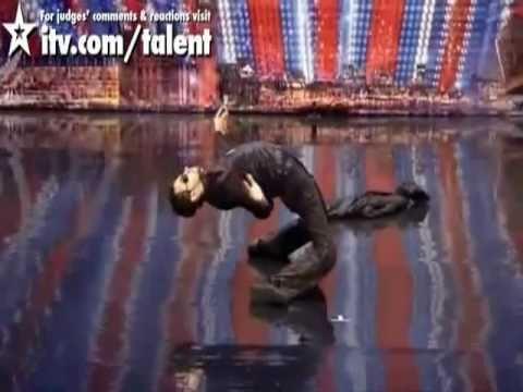 Britain's Got Talent - Break Dancing Body Popping Matrix Audition