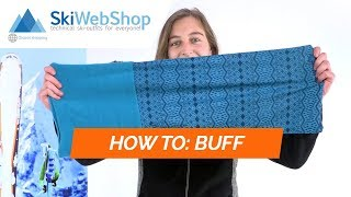 Buff, Polar Neckwarmer, scarf, unisex, Fairy Snow  blue