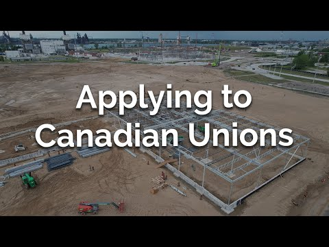 How to apply for a Canadian Union job on the Gordie Howe International Bridge project