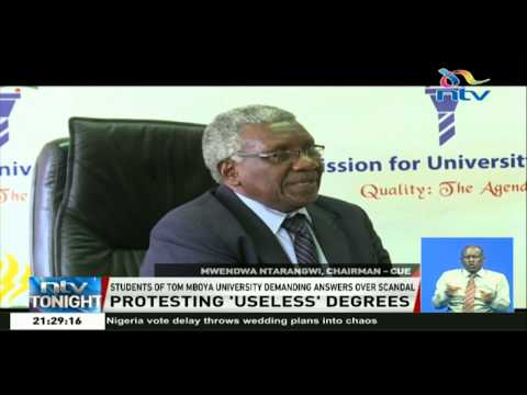 Tom Mboya University students demand answers over unapproved courses scandal