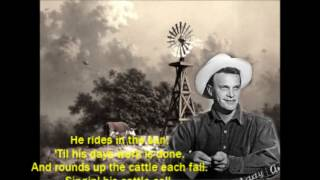 Cattle Call Eddy Arnold With Lyrics Chords