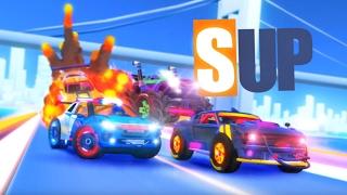 SUP Multiplayer Racing - Зажигательные гонки (обзор-летсплей на Android)