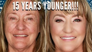 How to Look 15 Years Younger with a Step by Step Makeup Lesson for the Holidays | mathias4makeup