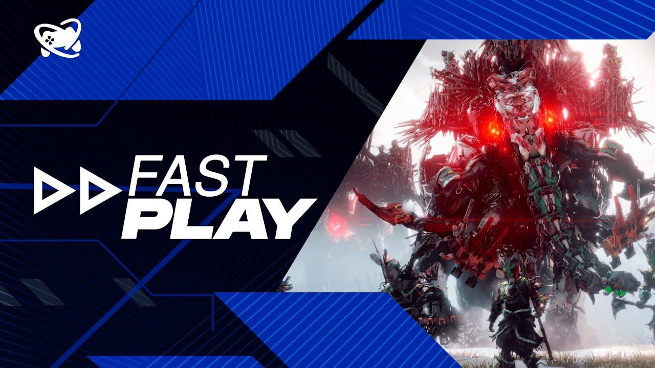 Fast Play (25/10): novos detalhes de Horizon Forbidden West e mais