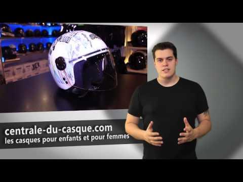 Les casques de moto pour femme et enfant - Centrale-du-casque.com