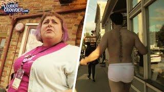 #SJW Feminist Festival Crashed By Crowder...In Underwear