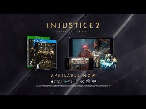 Bande-annonce pour l'édition légendaire de Injustice 2