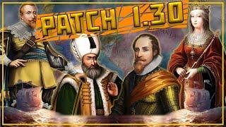 Patch 1.30 - Все изменения и обновления! (Europa Universalis 4)