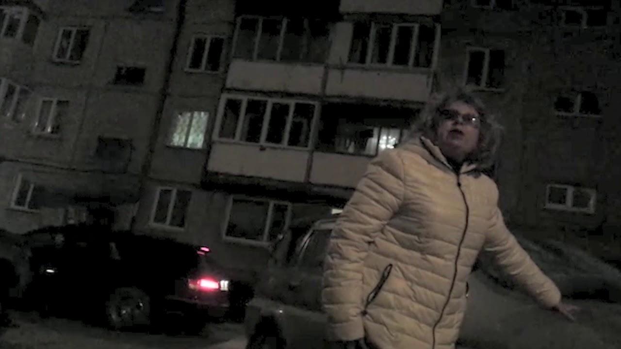 Женская месть молотком по авто