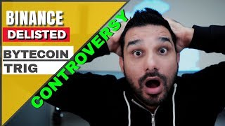 यह क्या कर रहा है  Binance ?? Delisted ByteCoin, TRIG -  DGB Controversy 🤔