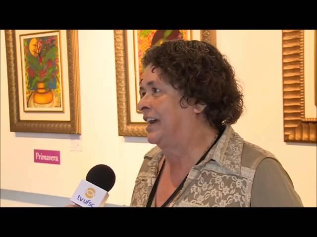 Exposição As Quatro Estações, da artista Vera Sabino.