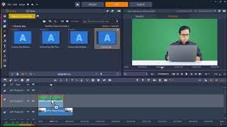 How To Improve Green Screen Footage In Pinnacle Studio