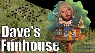 AoE2 - Dave's Funhouse Regicide FFA Madness