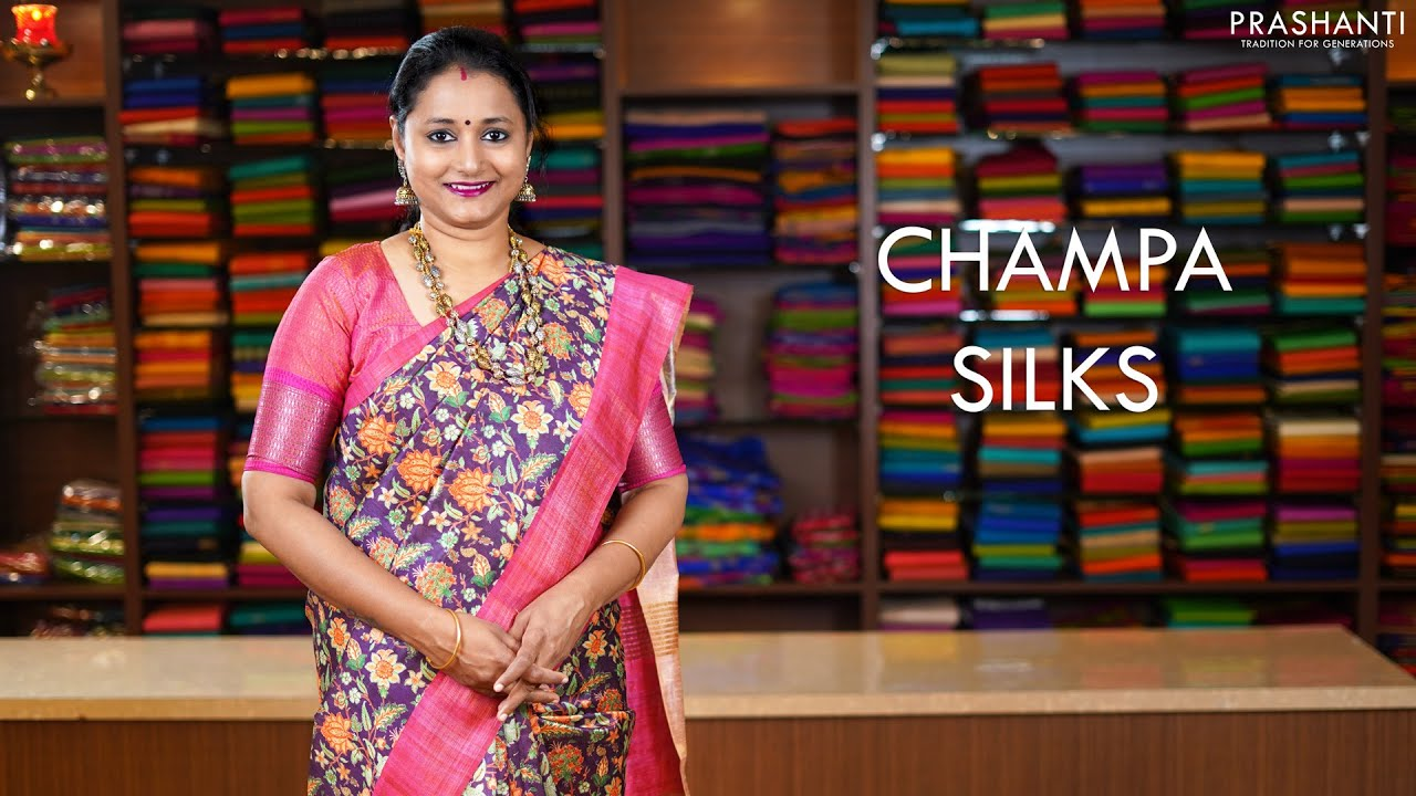 "<p style=""color: red"">Video : </p>Champa Semi Silks | 17 Jan 21 | Prashanti 2021-01-17"