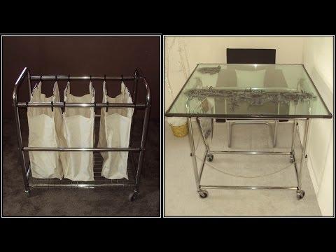 ¿ Cómo hacer un escritorio de vidrio ? How to make a glass desk ?