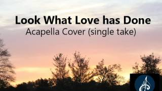 Look what love has done - Acapella Cover