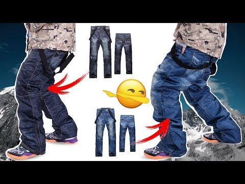 WOW 😱 SNOWBOARDHOSE IM JEANSLOOK 🔰 MUST HAVE