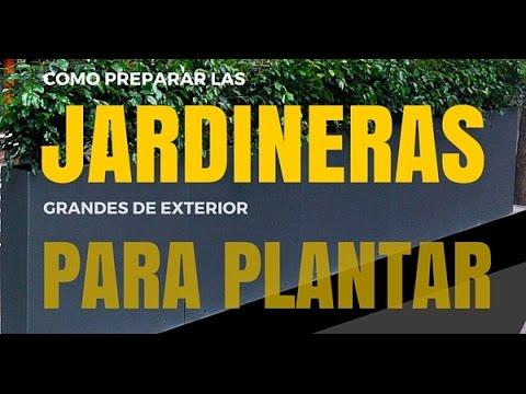 CÓMO PREPARAR LAS JARDINERAS GRANDES DE EXTERIOR PARA PLANTAR