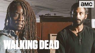 'Michonne's Journey of Trust' Inside of Ep. 907 BTS | The Walking Dead