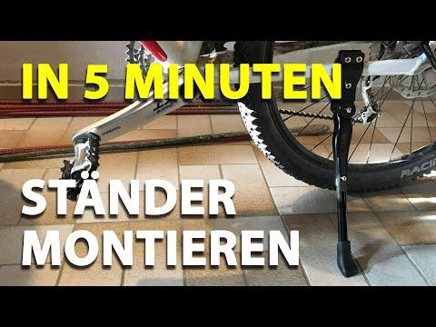 Fahrradständer montieren - Anleitung