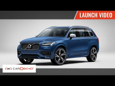 Volvo XC90 | Launch Video | CarDekho.com