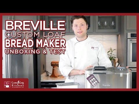 , Breville BBM800XL Custom Loaf Bread Maker