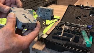 Electronic safe locks opening demo with E Lock Shock kit !!