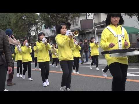 2016年 赤穂義士祭 その5 尾崎小学校の金管バンドパレード