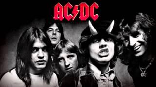 AC DC Bad boy boogie guitar BACKING TRACK