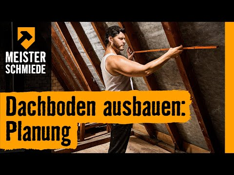 Dachboden ausbauen: Planung | HORNBACH Meisterschmiede