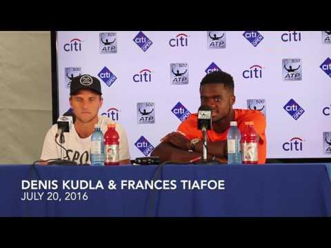 Denis Kudla & Frances Tiafoe - July 20, 2016