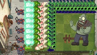 Plants vs Zombies 2 - Electric Peashooter, Parsnip and Shadow Peashooter