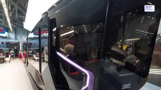 В России показали новейший трамвай Russia One