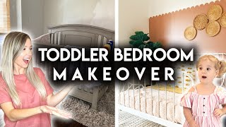 DIY BOHO GIRLS BEDROOM MAKEOVER | IKEA TODDLER ROOM
