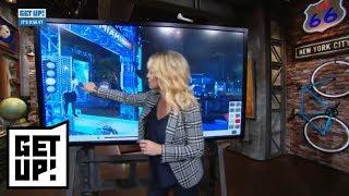 Michelle Beadle breaks down film of Amin Elhassan attempting American Ninja Warrior | Get Up! | ESPN - dooclip.me