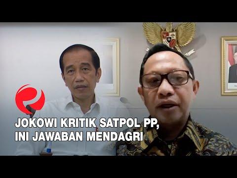 Jokowi Kritik Satpol PP, Ini Jawaban Mendagri