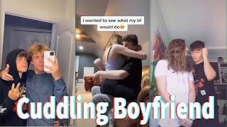 Cuddling Boyfriend TikTok Part 2 August