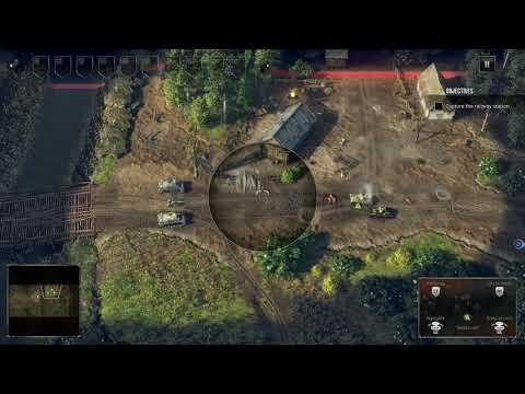 First Play of Sudden Strike 4 Complete Collection on Xbox One Part 1