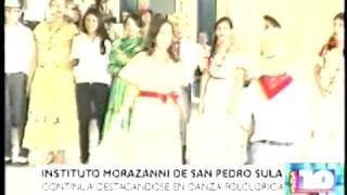 Cuadro de Danza Folkloricas Instituto Morazanico 03 05 2013